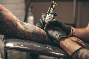 Vitaly tattooing