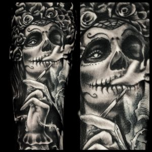 Day of the dead-VITALYTATTOO-BLACKPOOL
