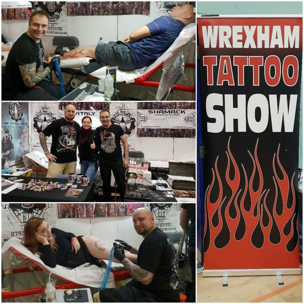 Vitaly tattoo at Wrexhamtattooshow2018