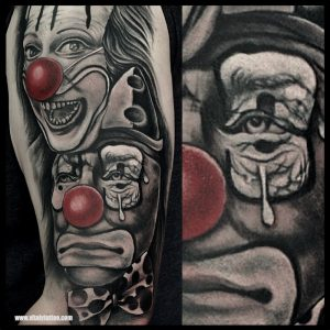 Black and grey tattoo-VITALYTATTOO-BLACKPOOL