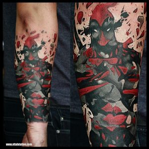 Dead pool tattoo