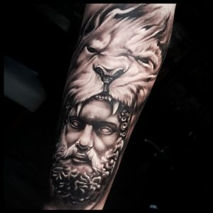 hercules tattoo-sheffield