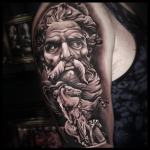zeus and pegasus tattoo-sheffield